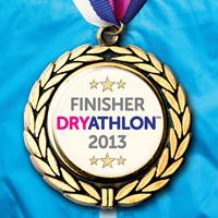 Dryathalon medal