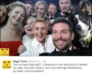 Dogs Trust selfie