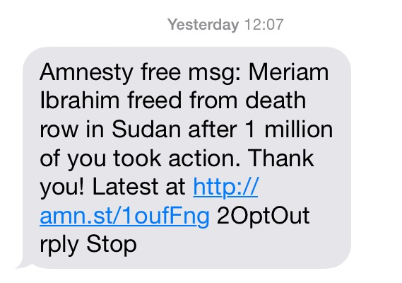 Amnesty International Text