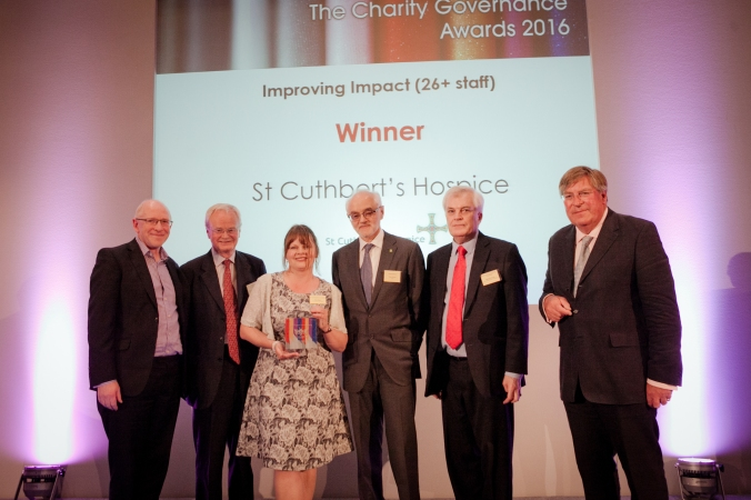 St Cuthberts Hospice, winners at Charity Governance Awards (photo by Kate Darkins).jpg