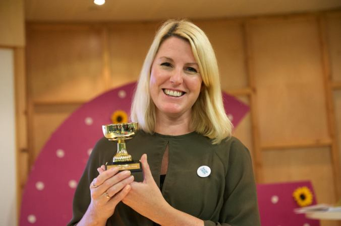 Kirsty Marrins Best Trustee on Social Media in Social CEOS Awards