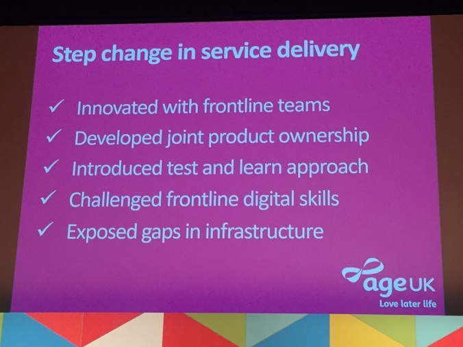 Step change in service delivery